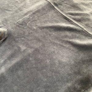 SPANX Pants - Spanx Silver Chrome Velvet Leggings